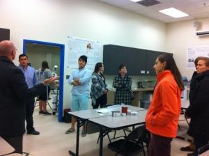 Ex Sci Club visit GVSU 2